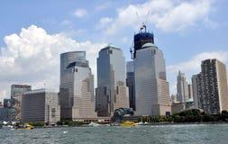 NYC: Centro finanziario del mondo Fotografie Stock