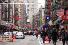NYC Chinatown lizenzfreies stockbild