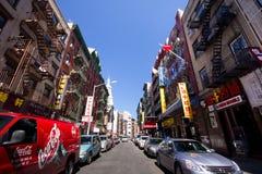 NYC Chinatown Fotografia Stock Libera da Diritti