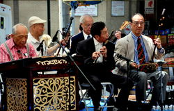NYC: Chinatown Senior Center Folk Orchestra Stock Image