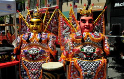 NYC: Chio-Tian Performers at Taiwanese Festival Stock Photo