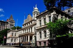 NYC: 1811 City Hall Royalty Free Stock Photography