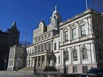 NYC Cityhall Imagen de archivo