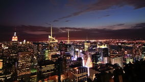 NYC Cityscape Time Lapse stock video