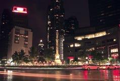 nyc columbus круга стоковая фотография rf