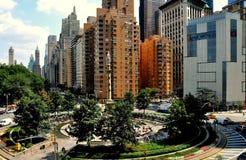 NYC: Columbus-Kreis Stockfotos
