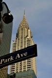 NYC:  A construção de Chrysler Fotografia de Stock Royalty Free