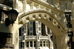NYC: Convent Avenue Arch at CUNY Royalty Free Stock Photos