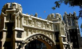 NYC: Convent Avenue Arch at CUNY Royalty Free Stock Photography