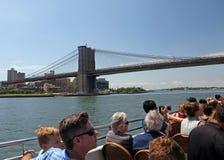 NYC-Cruise voor Toeristen Royalty-vrije Stock Afbeelding