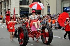 NYC : Défilé de fierté de 2011 homosexuels Photographie stock