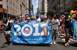 NYC : Défilé de fierté de 2012 homosexuels Photographie stock libre de droits