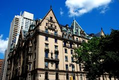 NYC: Dakota Luxury Apartment Building Royalty Free Stock Images