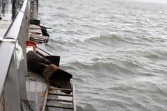 NYC Damage - Hurricane Sandy Royalty Free Stock Image