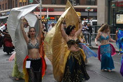 The 2015 NYC Dance Parade 1. Dance Parade New York is an entity of Dance Parade Inc. whose charitable mission is to promote dance as an expressive and unifying Royalty Free Stock Images