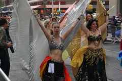 The 2015 NYC Dance Parade 3. Dance Parade New York is an entity of Dance Parade Inc. whose charitable mission is to promote dance as an expressive and unifying Royalty Free Stock Image