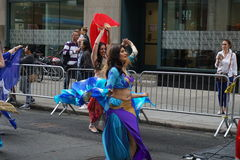 The 2015 NYC Dance Parade 4. Dance Parade New York is an entity of Dance Parade Inc. whose charitable mission is to promote dance as an expressive and unifying Stock Photos