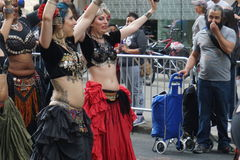 The 2015 NYC Dance Parade 5. Dance Parade New York is an entity of Dance Parade Inc. whose charitable mission is to promote dance as an expressive and unifying Stock Photography