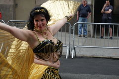 The 2015 NYC Dance Parade 9. Dance Parade New York is an entity of Dance Parade Inc. whose charitable mission is to promote dance as an expressive and unifying Royalty Free Stock Photos