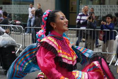 The 2015 NYC Dance Parade 12. Dance Parade New York is an entity of Dance Parade Inc. whose charitable mission is to promote dance as an expressive and unifying Royalty Free Stock Image