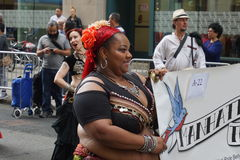 The 2015 NYC Dance Parade 17. Dance Parade New York is an entity of Dance Parade Inc. whose charitable mission is to promote dance as an expressive and unifying Royalty Free Stock Image