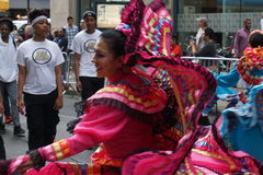 The 2015 NYC Dance Parade 21. Dance Parade New York is an entity of Dance Parade Inc. whose charitable mission is to promote dance as an expressive and unifying Royalty Free Stock Images