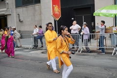 The 2015 NYC Dance Parade 26. Dance Parade New York is an entity of Dance Parade Inc. whose charitable mission is to promote dance as an expressive and unifying Royalty Free Stock Photography