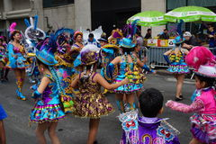The 2015 NYC Dance Parade 71. Dance Parade New York is an entity of Dance Parade Inc. whose charitable mission is to promote dance as an expressive and unifying Stock Images