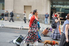 The 2015 NYC Dance Parade 72. Dance Parade New York is an entity of Dance Parade Inc. whose charitable mission is to promote dance as an expressive and unifying Royalty Free Stock Image