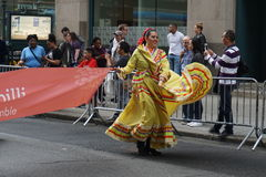 The 2015 NYC Dance Parade 74. Dance Parade New York is an entity of Dance Parade Inc. whose charitable mission is to promote dance as an expressive and unifying Royalty Free Stock Photography