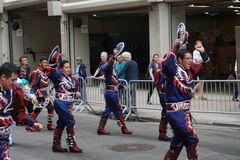 The 2015 NYC Dance Parade 93. Dance Parade New York is an entity of Dance Parade Inc. whose charitable mission is to promote dance as an expressive and unifying Stock Images