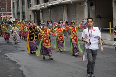 The 2015 NYC Dance Parade 96 Royalty Free Stock Images