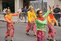 The 2015 NYC Dance Parade 99. Dance Parade New York is an entity of Dance Parade Inc. whose charitable mission is to promote dance as an expressive and unifying Royalty Free Stock Photography