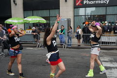 The 2015 NYC Dance Parade Part 2 5 Stock Photography