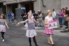 The 2015 NYC Dance Parade Part 2 7 Royalty Free Stock Photo