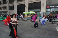 The 2015 NYC Dance Parade Part 2 31 Royalty Free Stock Photography