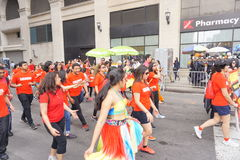 The 2015 NYC Dance Parade Part 2 48 Stock Image