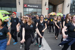 The 2015 NYC Dance Parade Part 2 82 Royalty Free Stock Photography