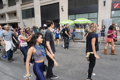 The 2015 NYC Dance Parade Part 3 30 Royalty Free Stock Photography