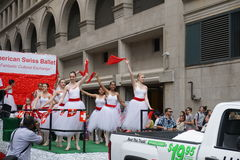 The 2015 NYC Dance Parade Part 3 32 Royalty Free Stock Photos