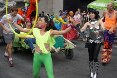 The 2015 NYC Dance Parade Part 3 53 Royalty Free Stock Photo