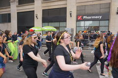 The 2015 NYC Dance Parade Part 3 73 Royalty Free Stock Photography