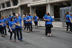 The 2015 NYC Dance Parade Part 3 85 Royalty Free Stock Photo
