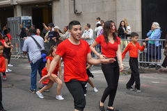 The 2015 NYC Dance Parade Part 3 91 Stock Photos