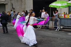 The 2015 NYC Dance Parade Part 4 4. Dance Parade New York is an entity of Dance Parade Inc. whose charitable mission is to promote dance as an expressive and royalty free stock photos