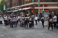 2015 NYC Dansparade 6 Stock Afbeeldingen