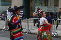 2015 NYC Dansparade 73 Stock Afbeelding
