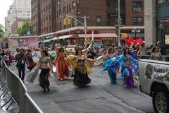 2015 NYC Dansparade 75 Stock Afbeelding
