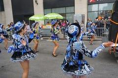 2015 NYC Dansparade 77 Stock Foto
