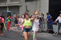 2015 NYC Dansparade 78 Stock Foto's